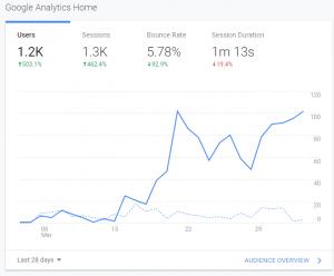 SEO Results - SEO Analytics 2020 - Content Marketing 1